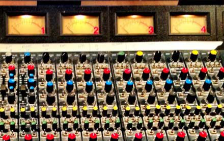 Our MIDAS Mixing Desk
